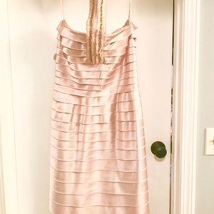 BCBG Cocktail Dress NEVER WORN! SZ 8 Light Pink